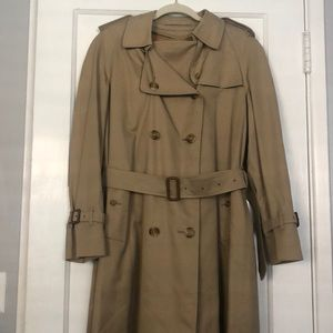 Women's Vintage Burberry Full Length Trench Coat